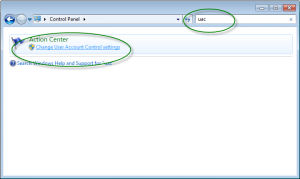 Cara mematikan User Account Control 2