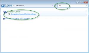 Cara mematikan User Account Control 2